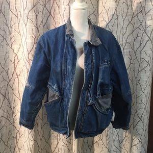VINTAGE jean jacket 80's